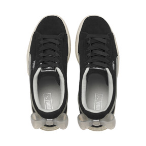 Thumbnail 6 of Suede Bow Jelly Girls' Trainers, Puma Black-Glac Gray-Silver, medium