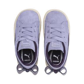Miniatura 6 de Zapatos Suede Jelly Bow AC para niños, SweetLavender-Indigo-White, mediano