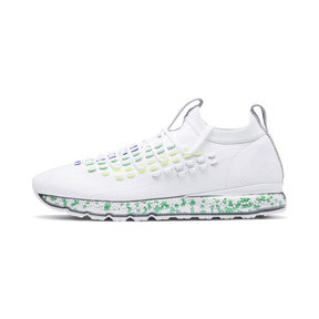 Thumbnail 1 of JAMMING FUSEFIT Chameleon Trainers, Puma White-Irish Green, medium