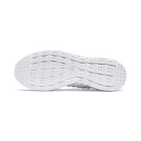 Thumbnail 4 of JAMMING FUSEFIT Chameleon Trainers, Puma White-Irish Green, medium