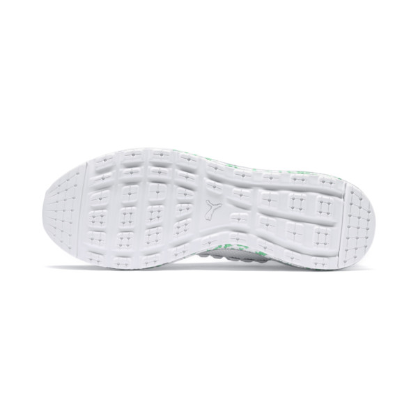 JAMMING FUSEFIT Chameleon Trainers, Puma White-Irish Green, large