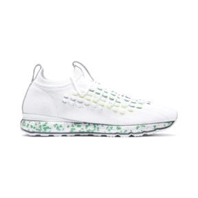 Thumbnail 5 of JAMMING FUSEFIT Chameleon Trainers, Puma White-Irish Green, medium