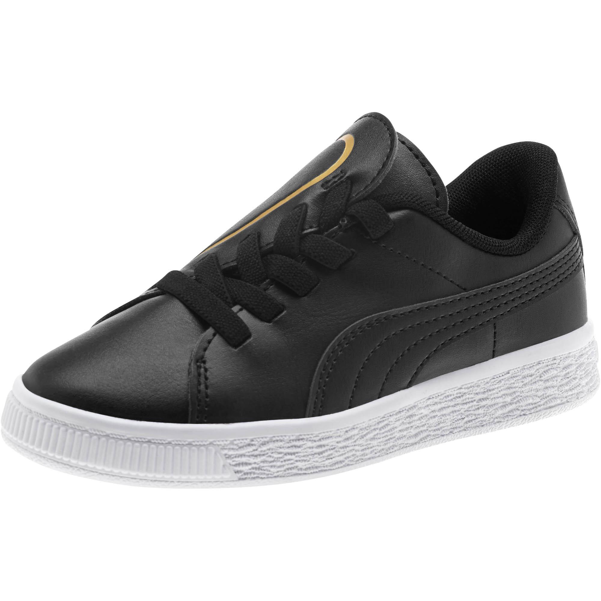 PUMA-Basket-Crush-AC-Little-Kids-039-Shoes-Girls-Shoe-Kids thumbnail 4