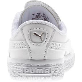 Thumbnail 3 of Basket Crush AC Toddler Shoes, Puma White-Puma Silver, medium