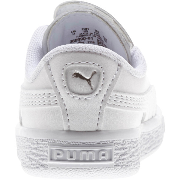 Basket Crush AC Sneakers INF, Puma White-Puma Silver, large