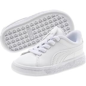 Thumbnail 2 of Basket Crush AC Toddler Shoes, Puma White-Puma Silver, medium