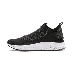 Thumbnail 1 of Tsugi Kai Jun Speckle evoKNIT Trainers, Puma Black-Asphalt, medium