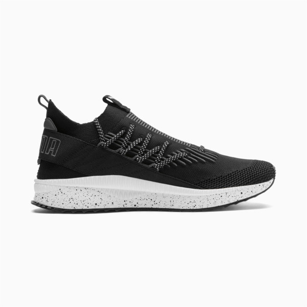 Tsugi Kai Jun Speckle evoKNIT Trainers, Puma Black-Asphalt, large