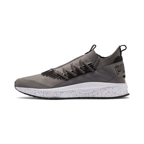 Thumbnail 1 of Tsugi Kai Jun Speckle evoKNIT Trainers, Steel Gray-Puma Black, medium