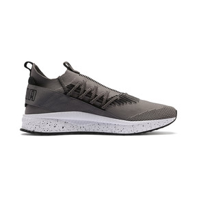 Thumbnail 5 of Tsugi Kai Jun Speckle evoKNIT Trainers, Steel Gray-Puma Black, medium