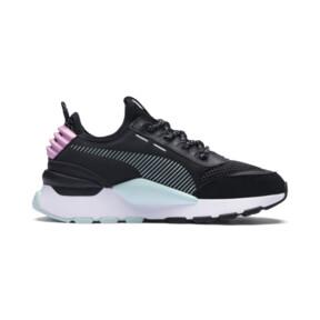 Thumbnail 5 of RS-0 Winter Inj Toys JNR Sneakers, Puma Black-Pale Pink, medium