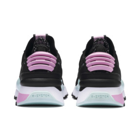 Thumbnail 4 of RS-0 Winter Inj Toys Kids' Trainers, Puma Black-Pale Pink, medium