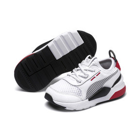 Thumbnail 2 of RS-0 Winter Toys Babies' Trainers, Puma White-High Risk Red, medium