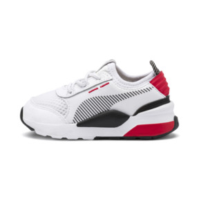 Thumbnail 1 of RS-0 Winter Toys Babies' Trainers, Puma White-High Risk Red, medium