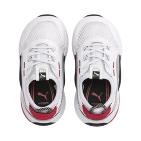Thumbnail 6 of RS-0 Winter Toys Babies' Trainers, Puma White-High Risk Red, medium