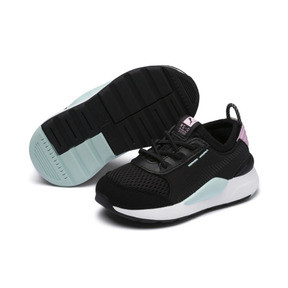 Thumbnail 2 of RS-0 Winter Toys Babies' Trainers, Puma Black-Pale Pink, medium