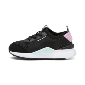 Thumbnail 1 of RS-0 Winter Toys Babies' Trainers, Puma Black-Pale Pink, medium