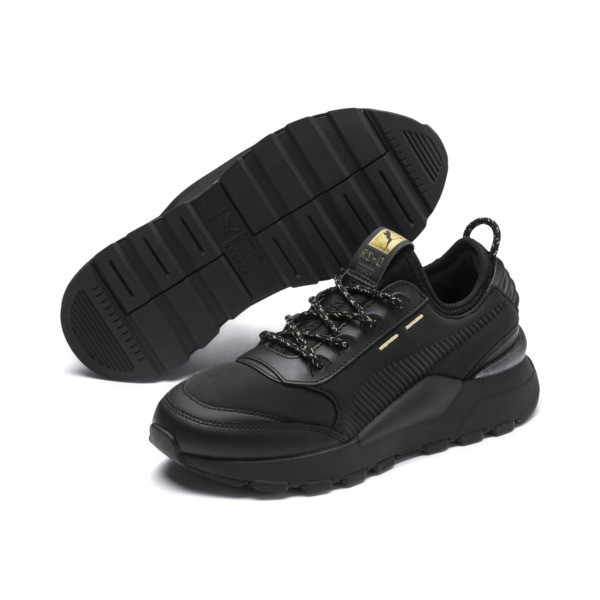 RS-0 Trophy Youth Sneaker, Puma Black-Puma Black, large
