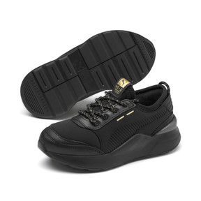 Thumbnail 2 of RS-0 Trophy Kids Sneaker, Puma Black-Puma Black, medium