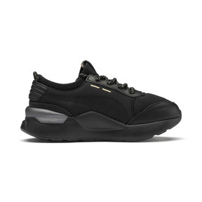 Thumbnail 5 of RS-0 Trophy Kids' Trainers, Puma Black-Puma Black, medium