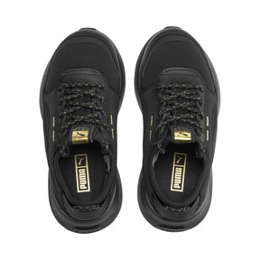 Thumbnail 6 of RS-0 Trophy Kids Sneaker, Puma Black-Puma Black, medium