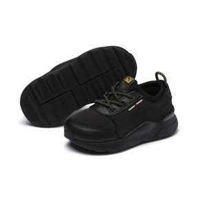 Thumbnail 2 of RS-0 Trophy Babies' Trainers, Puma Black-Puma Black, medium