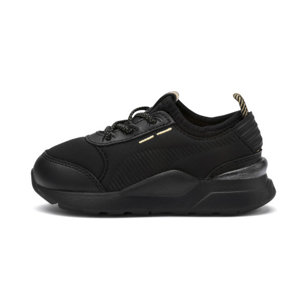 RS-0 Trophy Babies' Trainers, Puma Black-Puma Black, large