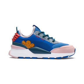 Thumbnail 7 of Sesame Street 50 RS-0 Sneakers JR, Veiled Rose-Indigo-BlueCoral, medium