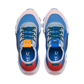 Thumbnail 6 of Sesame Street 50 RS-0 Youth Trainers, Veiled Rose-Indigo-BlueCoral, medium