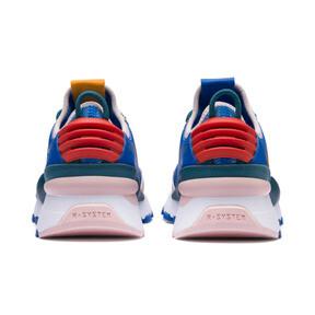 Miniatura 3 de Zapatos Sesame Street 50 RS-0 para niño pequeño, Veiled Rose-Indigo-BlueCoral, mediano