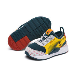 Miniatura 2 de Zapatos Sesame Street 50 RS-0 para niño pequeño, Rose-Blue Coral-Dandelion, mediano