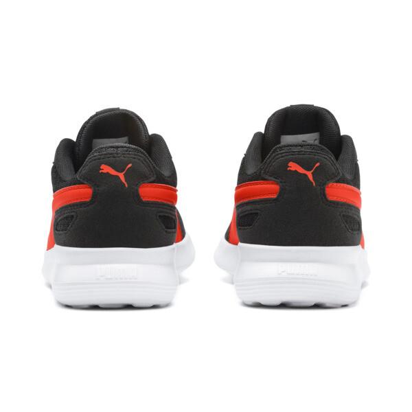 Zapatos deportivos ST Activate para JR, Puma Black-Cherry Tomato, grande