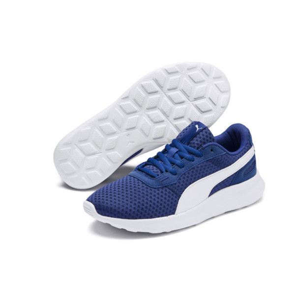 ST Activate Sneakers JR, Galaxy Blue-Puma White, large