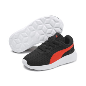 Thumbnail 2 of ST Activate AC Toddler Shoes, Puma Black-Cherry Tomato, medium