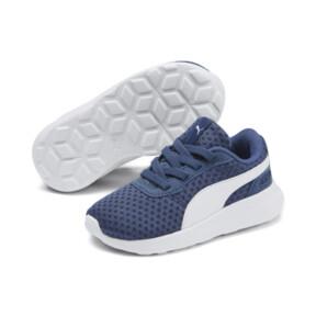 Miniatura 2 de Zapatos ST Activate AC para bebé, Galaxy Blue-Puma White, mediano