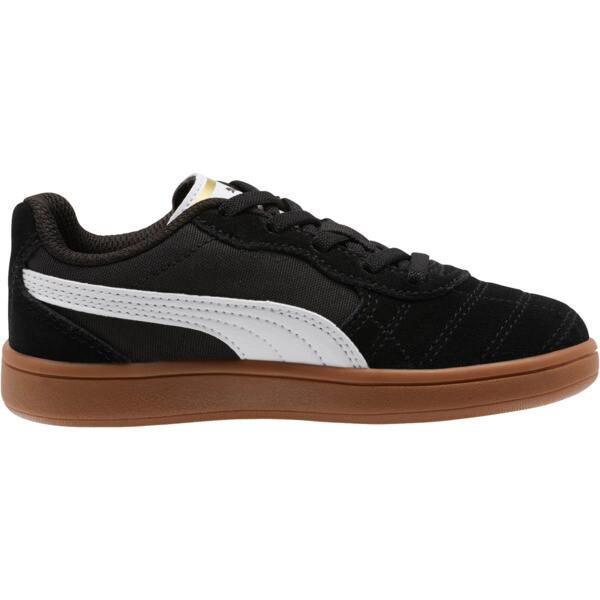 Zapatos Astro Kick AC para niño pequeño, Puma Black-Puma White-Gold, grande