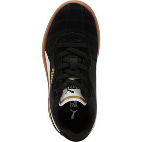 Miniatura 5 de Zapatos Astro Kick AC para niño pequeño, Puma Black-Puma White-Gold, mediano