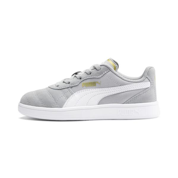 Zapatos Astro Kick AC para niño pequeño, H Rise-Wht-Dorado-G Violet-Gum, grande