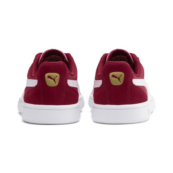 Zapatos Astro Kick AC para niño pequeño, Rhubarb-Puma White-Gold, grande