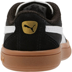 Thumbnail 3 of Astro Kick AC Toddler Shoes, Puma Black-Puma White-Gold, medium