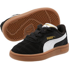 Thumbnail 2 of Astro Kick AC Toddler Shoes, Puma Black-Puma White-Gold, medium