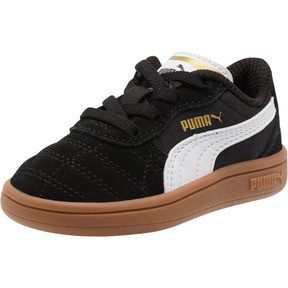 Thumbnail 1 of Astro Kick AC Toddler Shoes, Puma Black-Puma White-Gold, medium