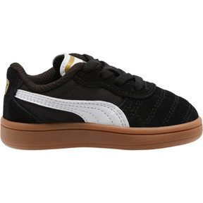 Thumbnail 4 of Astro Kick AC Toddler Shoes, Puma Black-Puma White-Gold, medium