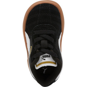Thumbnail 5 of Astro Kick AC Toddler Shoes, Puma Black-Puma White-Gold, medium