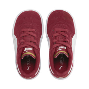 Thumbnail 6 of Astro Kick AC Toddler Shoes, Rhubarb-Puma White-Gold, medium