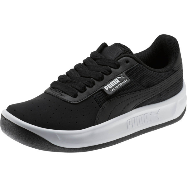 California Sneakers JR, P Black-P White-P Black, large