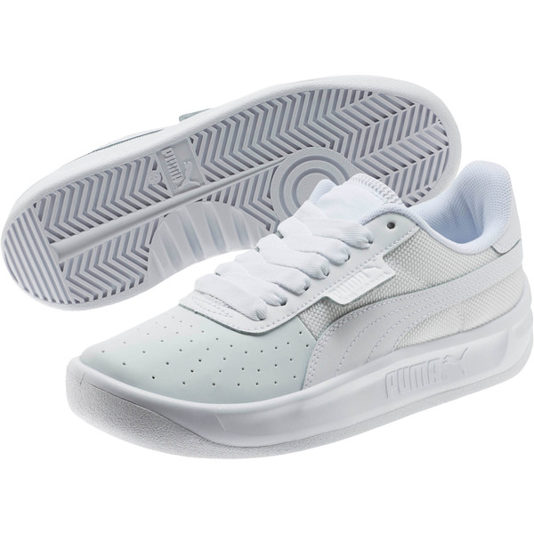 California Sneakers JR, P White-P White-P White, large