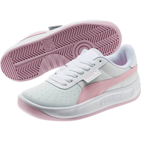 Thumbnail 2 of California Sneakers JR, Puma Wht-Pale Pink-Puma Wht, medium
