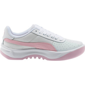 Thumbnail 4 of California Sneakers JR, Puma Wht-Pale Pink-Puma Wht, medium