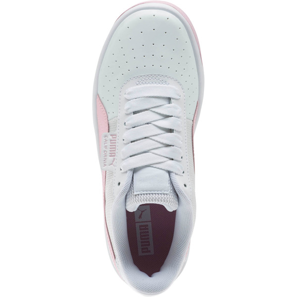 California Sneakers JR, Puma Wht-Pale Pink-Puma Wht, large
